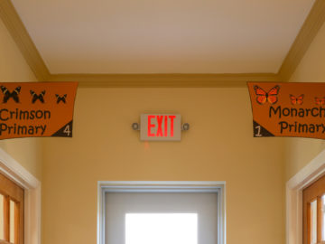 Class rooms name at our Montessori school of cypress