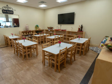 cafe room for kids in our school