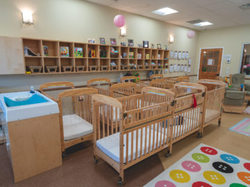room for toddlers at our montessori school cypress